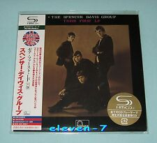 SPENCER DAVIS GROUP Their First LP JAPAN mini lp cd SHM UICY-93686 Winwood new
