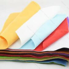 25 Colors Felt Super Soft DIY Craft Supplies #I Polyester Wool Blend Fabric 30cm