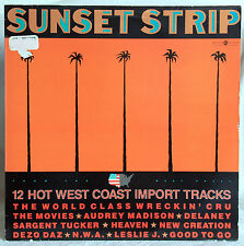 "12"" Vinyl SUNSET STRIP - 12 Hot West Coast Import Tracks"