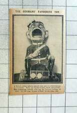 1915 Favourite Toy In Germany, British Soldier Mouth Wide Open
