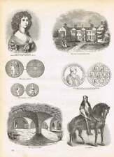 Engravings Lady Place Hurley Vaults Medal Petitioning Bishops Maria Beatrix