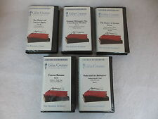 LOT OF 5 ANCIENT EGYPT & ROMAN HISTORY Great Courses Teaching Company
