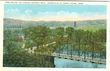 Greenfield MA Here Begins the Famous Mohawk Trail to North Adams