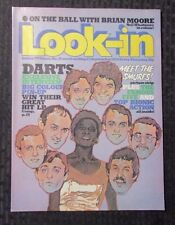 1978 LOOK-IN Weekly UK Magazine #39 FVF The Darts - Benny Hill - Smurfs