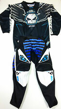 "NO FEAR MOTOCROSS KIT SPECTRUM MX PANTS SPIKE BLUE ENGERY JERSEY NEW 28"" SMALL"