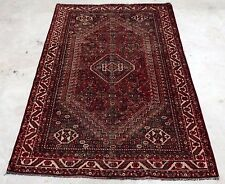 Vintage Persian Karghai Yalemeh 5'X8' Handknotted100% Wool Pile Rug Ds-314