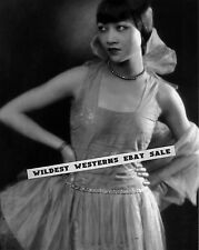 ANNA MAY WONG Mae SEXY early young portrait CHINESE STAR China Girl RARE busty