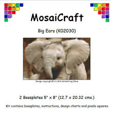 MosaiCraft Pixel Craft Mosaic Art Kit 'Big Ears' (Inc. Dove Tail Clips)