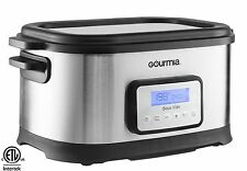 Gourmia GSV550 9 quart Sous Vide Water Oven Cooker with Digital Timer and... New