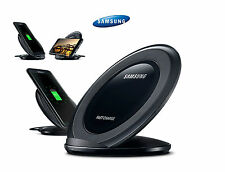 Original Samsung Wireless Fast Charge Qi Charging STAND Pad for Galaxy S7 edge