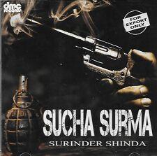 SURINDER SHINDA - SUCHA SURMA - BRAND NEU BHANGRA CD