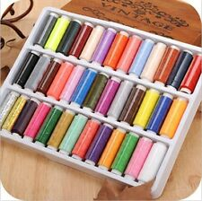 New 39pcs 200 Yard Mixed Colors Polyester Spool Sewing Thread For Hand Machine !