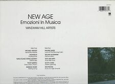 NEW AGE disco LP 33 EMOZIONI IN MUSICA Michael Hedges Philippe Saisse Nightnoise