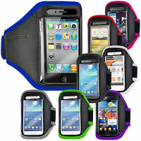 SPORTS RUNNING GYM JOGGING CYCLE ARMBAND COVER FOR SAMSUNG GALAXY E5