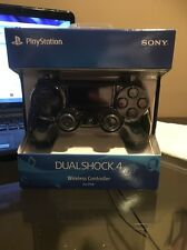Official Sony PlayStation 4 PS4 Dualshock 4 Wireless Controller BLACK BRAND NEW!