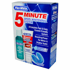 PLUS WHITE 5 MINUTE SPEED WHITENING TEETH WHITENING COMPLETE KIT