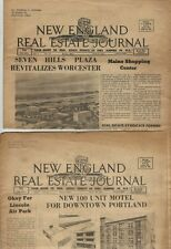 7 - 1963 Issues - The New England Real Estate Journal - Good Condition