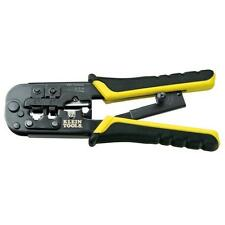 Klein RJ11 RJ45 Crimper/Stripper Cat6 Wire Connector Network Cable Crimping Tool