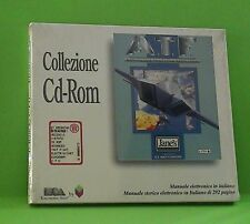 ATF simulatore volo a.t.f.SIGILLATO man ITA pc cd rom advanced tactical fighter.