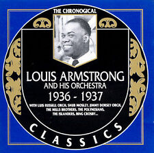 The Chronological Louis Armstrong (1936-1937) (CD, 1990, Classics)