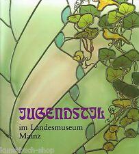 Fachbuch Jugendstil in Mainz, Glas, Keramik, Metall, Möbel, Porzellan REDUZIERT