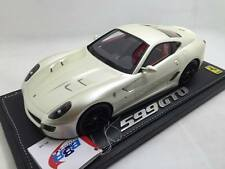 1/18 Car Model BBR Ferrari 599 GTO 2010 Pearl White No Display Box P1816PW