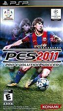 Pro Evolution Soccer PES 2011 UMD PSP W/CASE GAME SONY PLAYSTATION PORTABLE 2K11