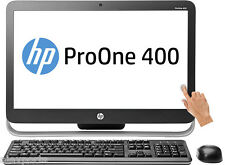 "HP ProOne 400 G1 PC empresariales Táctil 21.5"" i3-4160T 4GB Fullhd 500GB Windows 10"