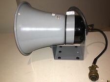 BRAND NEW Federal Signal Model SA24-1Z Siren Horn Speaker Train Marine Truck 37V