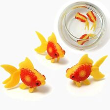 3PC Aquarium Tank Plastic Artificial Swimming Fake Fish Kid Ornament Decoration