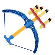 Newest Kids Bow Arrows Set 6 Sucker Arrows and Archery Target Sport Game Toy