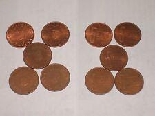 269d RUMÄNIEN - ROMANIA - 5 aktuelle 5 Bani Münzen