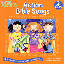 Wee Worship: Action Bible Songs by Various Artists CD 2006 2 Discs SEALED