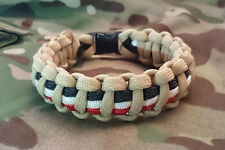 Iraq War Campaign Medal Help For Heroes Inspired Handmade Bracelet