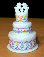 Hasbro My Little Pony G1 Pony Bride 3 Tier Wedding Cake - VGC