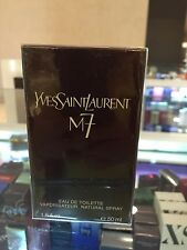 Yves Saint Laurent M7 EDT Natural Spray 50mL (1.6 OZ) 4 Ingredients Formula Rare