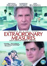 EXTRAORDINARY MEASURES DVD Brendan Fraser Harrison Ford New Original UK Release