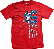 United States Play Hard USA Soccer Ball Player Football America Mens T-shirt