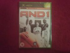 AND 1 STREET BALL NEW AND SEALED  MICROSOFT XBOX PAL