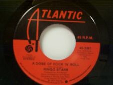 "RINGO STARR ""A DOSE OF ROCK N ROLL / CRYIN"" 45 MINT"