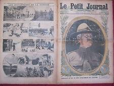 LE PETIT JOURNAL - 24 Juin 1917 n° 1383 - Général J. J. PERSHING / Front  LILLE