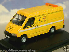 OXFORD DIECAST 1/76 FORD TRANSIT MK3 MKIII AA AUTOMOBILE ASSOCIATION 76FT3004
