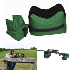 Shooting Gun Rest Bag Set Front&Rear Rifle Target Hunting Bench Bag Gun Sandbag