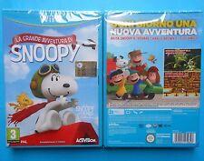 videogiochi wii u snoopy video games wii u new sealed snoopy & friends woodstock