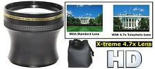 Telephoto Lens Xtreme Hi Def 4.7x for Canon Powershot SX50 HS SX30 IS