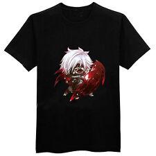 Tokyo Ghoul Anime Kaneki Chibi Black Medium T-Shirt