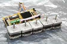 MMI Systems SVR-I-8001-UNICS-R2 Drive Controller 5 Nema 17 Stepper Motors