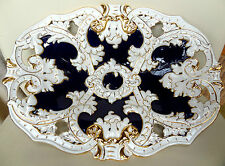 GRANDE 33cm 1st qualità porcellana di Meissen Ciotola Sollievo