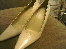ladies marks and spencers cream size 6 shoes