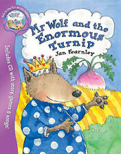 Mr Wolf and the Enormous Turnip (Mr. Wolf Books), Fearnley, Jan, New Book